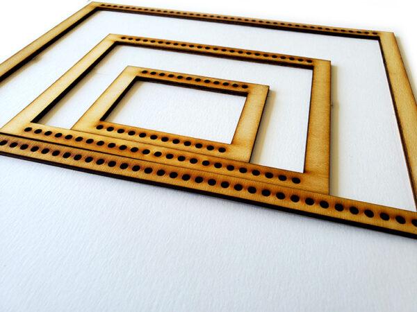 Landscape Rectangle Frame Loom - Full Set-16948