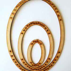 Portrait Oval Frame Loom - Large-0
