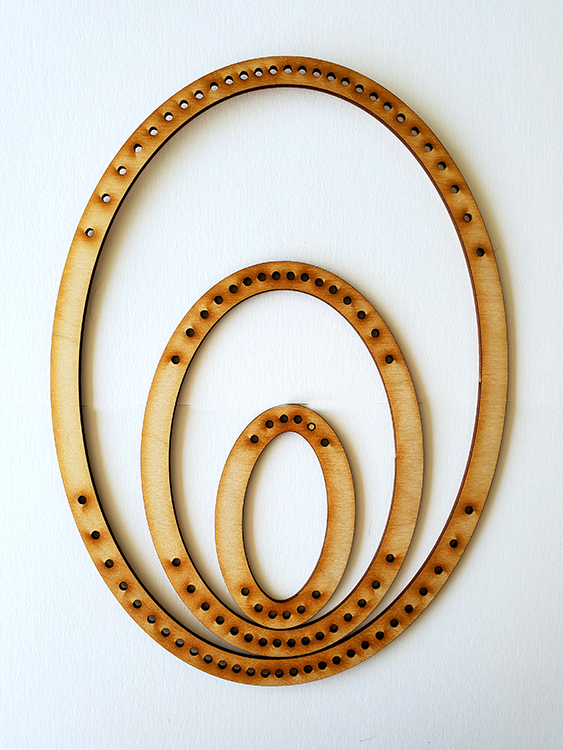 Portrait Oval Frame Loom - Small-0