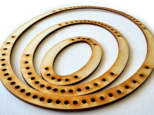 Portrait Oval Frame Loom - Large-16970