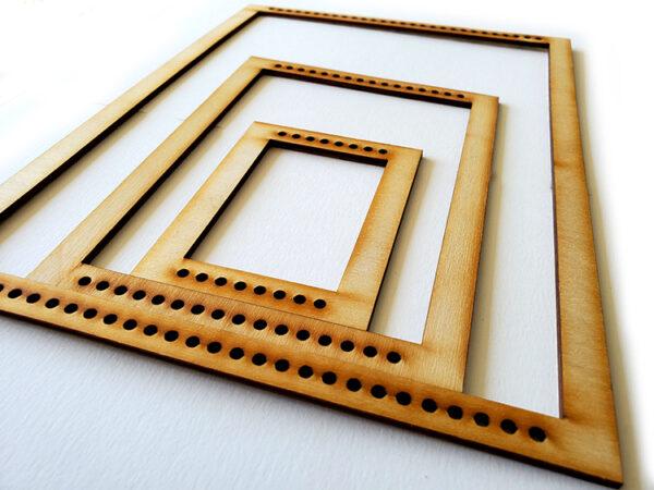 Portrait Rectangle Frame Loom - Medium-16940