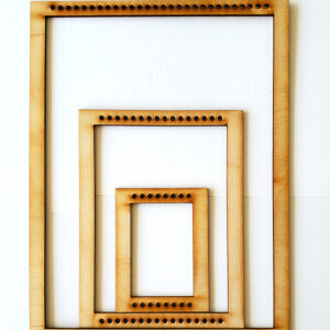 Portrait Rectangle Frame Loom - Medium-0