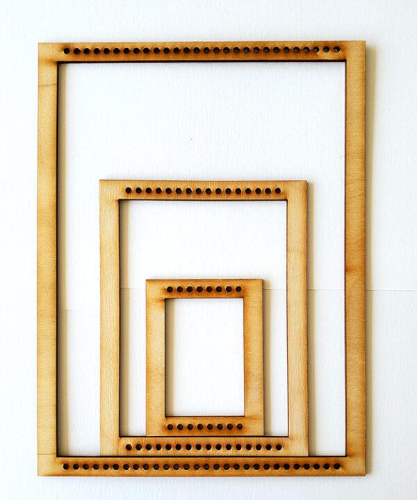 Portrait Rectangle Frame Loom - Medium-0