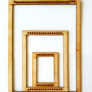 Portrait Rectangle Frame Loom - Full Set-0