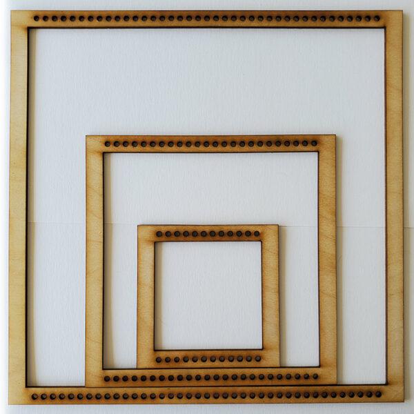 Square Frame Loom - Full Set-0