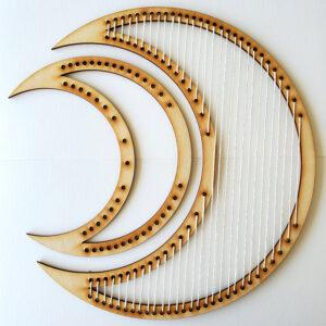 Crescent Moon Frame Loom - Large-0