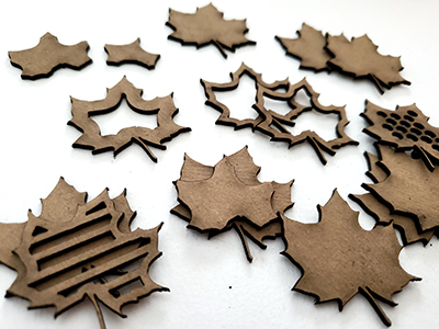 Layered Maple Leaves-17046