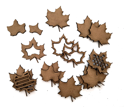 Layered Maple Leaves-0