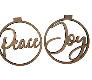 Peace & Joy Ornaments-0
