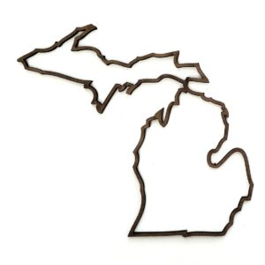 Michigan Outline 3 inch-0
