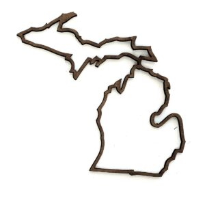 Michigan Outline 4 inch-0