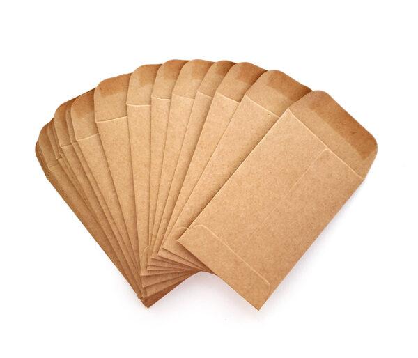 Coin Envelopes : Kraft-17474