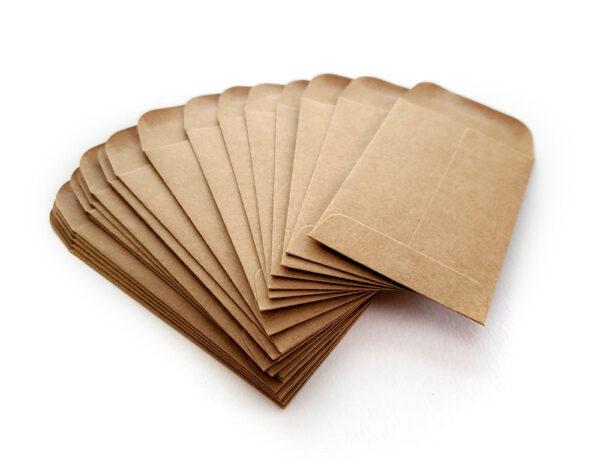 Coin Envelopes : Kraft-17475
