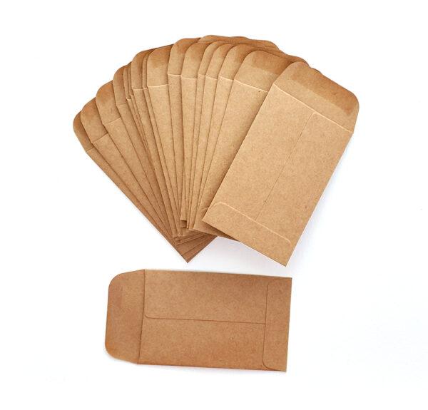 Coin Envelopes : Kraft-0